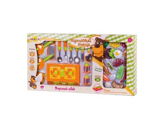 Игрушка Altacto ALT0201-115 Кухонный набор Вкусный обед