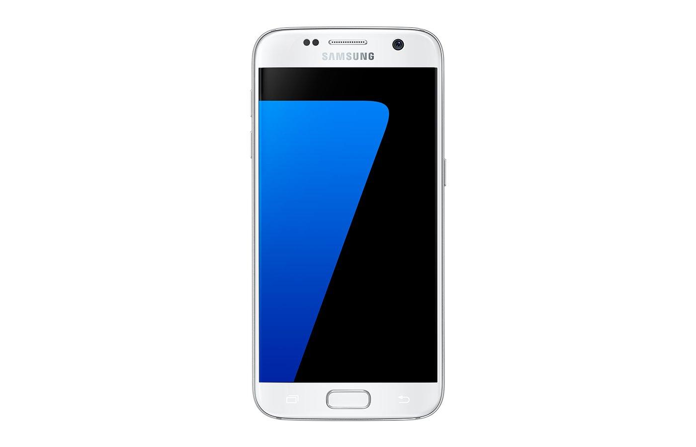 Смартфон Samsung Galaxy S7 edge SM-G935FD 32 Гб ослепит. платина