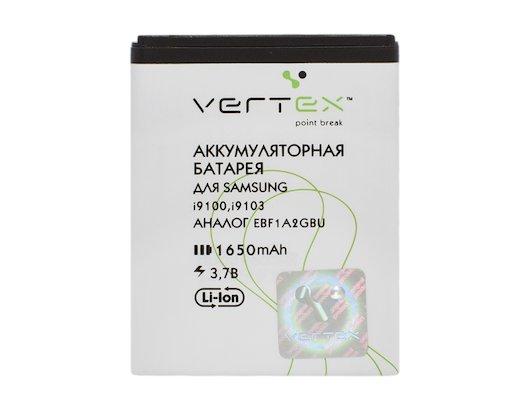 Аккумулятор VERTEX для Samsung Galaxy S2 (EB-F1A2GBU) 1650mAh