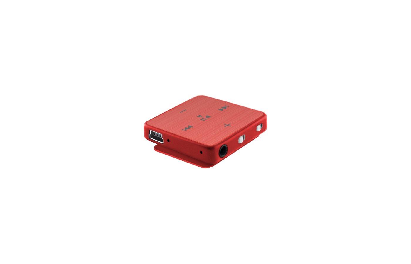 МР3 плеер TeXet T-22 4Gb красный