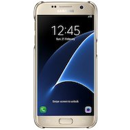 Фото Чехол Samsung СlCover для Galaxy S7 (SM-G930) (EF-QG930CFEGRU) золотой