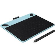 Графический планшет Wacom Intuos Draw Pen S CTL-490DB-N USB голубой