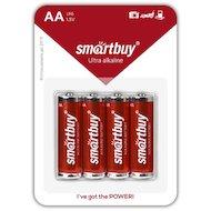Батарейка Smartbuy AA 4шт. LR6/4B (SBBA-2A04B)
