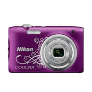Фото Фотоаппарат компактный Nikon Coolpix A100 purple lineart