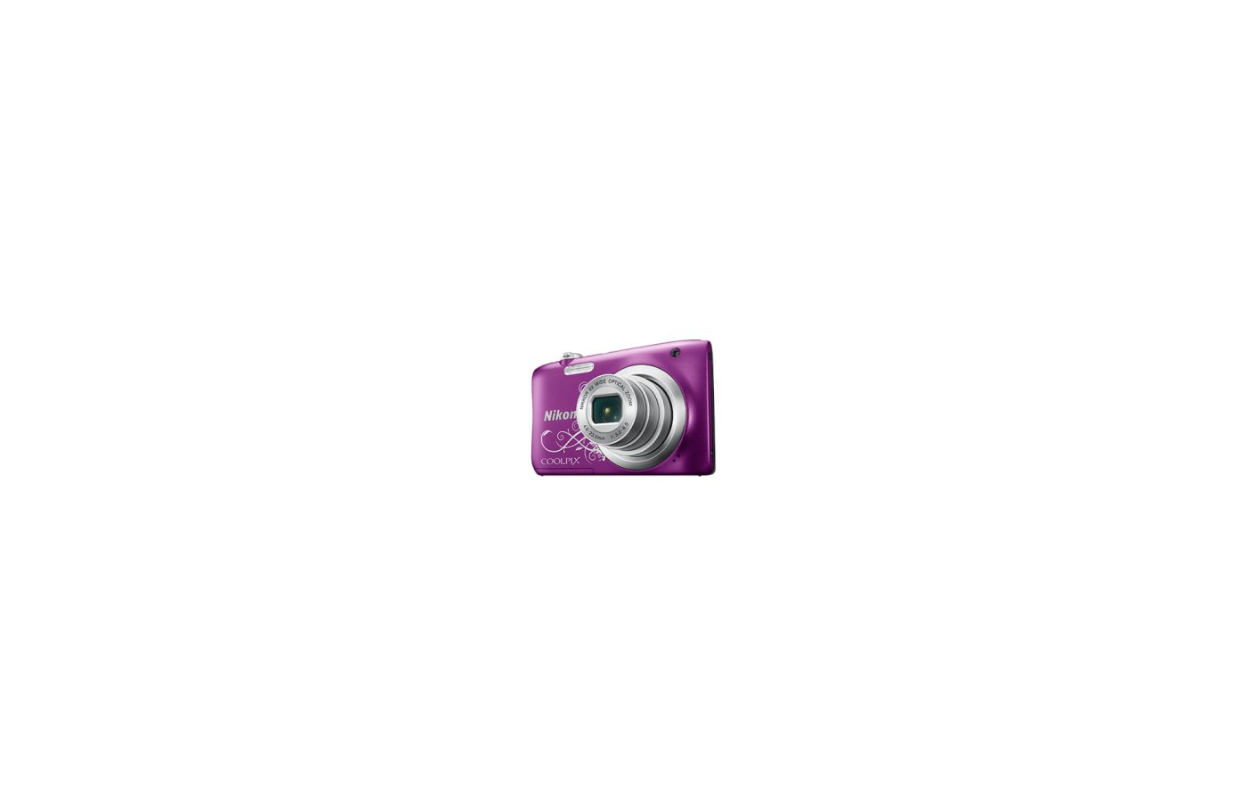 Фотоаппарат компактный Nikon Coolpix A100 purple lineart
