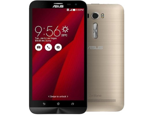 Смартфон ASUS ZE601KL ZenFone 2 Laser 32Gb золотистый