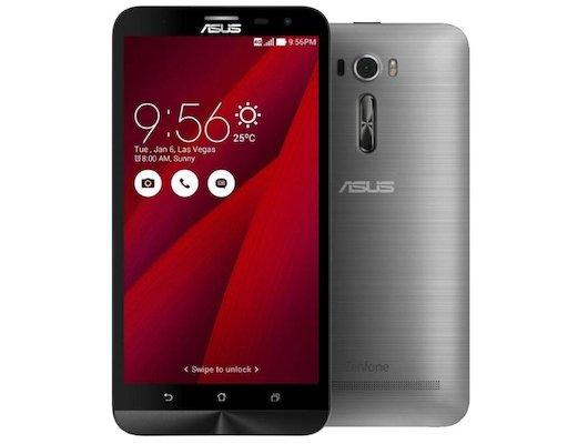 Смартфон ASUS ZE601KL ZenFone 2 Laser 32Gb серебристый