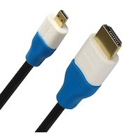Кабель Smartbuy HDMI(m) - micro HDMI(m) ver.1.4 (К318) 1.8м.