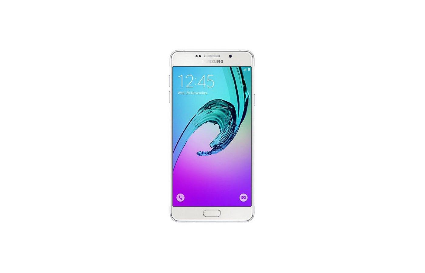 Смартфон Samsung Galaxy A7 (2016) SM-A710F белый