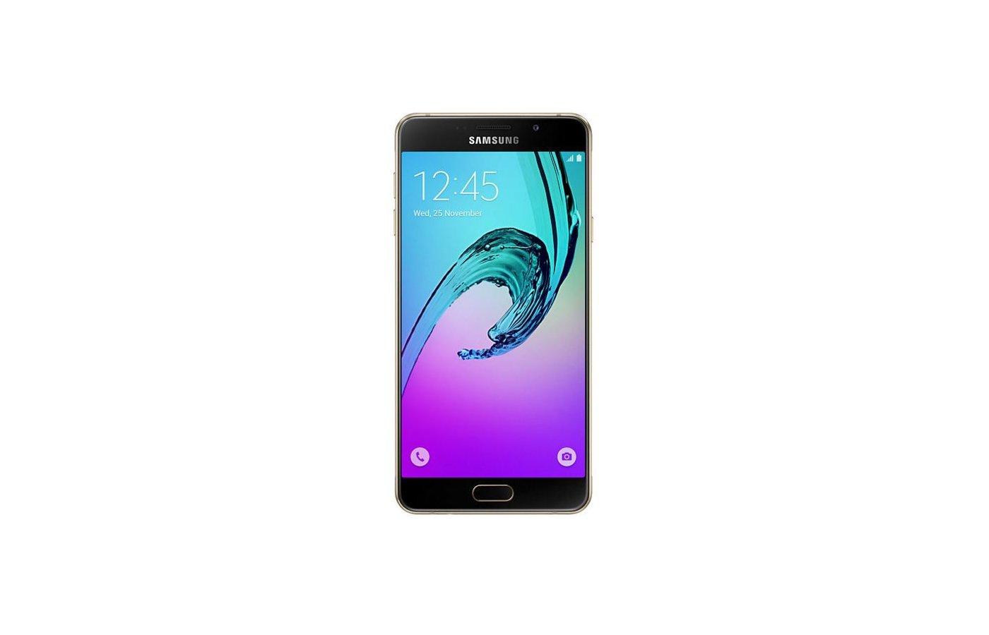 Смартфон Samsung Galaxy A7 (2016) SM-A710F золотой