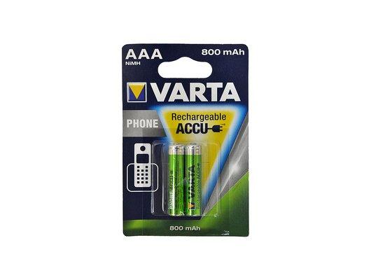 Аккумулятор VARTA AAA 800mAh Ni-Mh 2шт. (Phone Power)