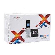 Фото Радиотелефон TeXet TX-D7455A черно-серебристый
