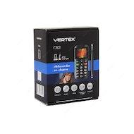 Фото Мобильный телефон Vertex C303 черный/серебро