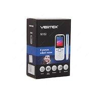 Фото Мобильный телефон Vertex M102 белый синий