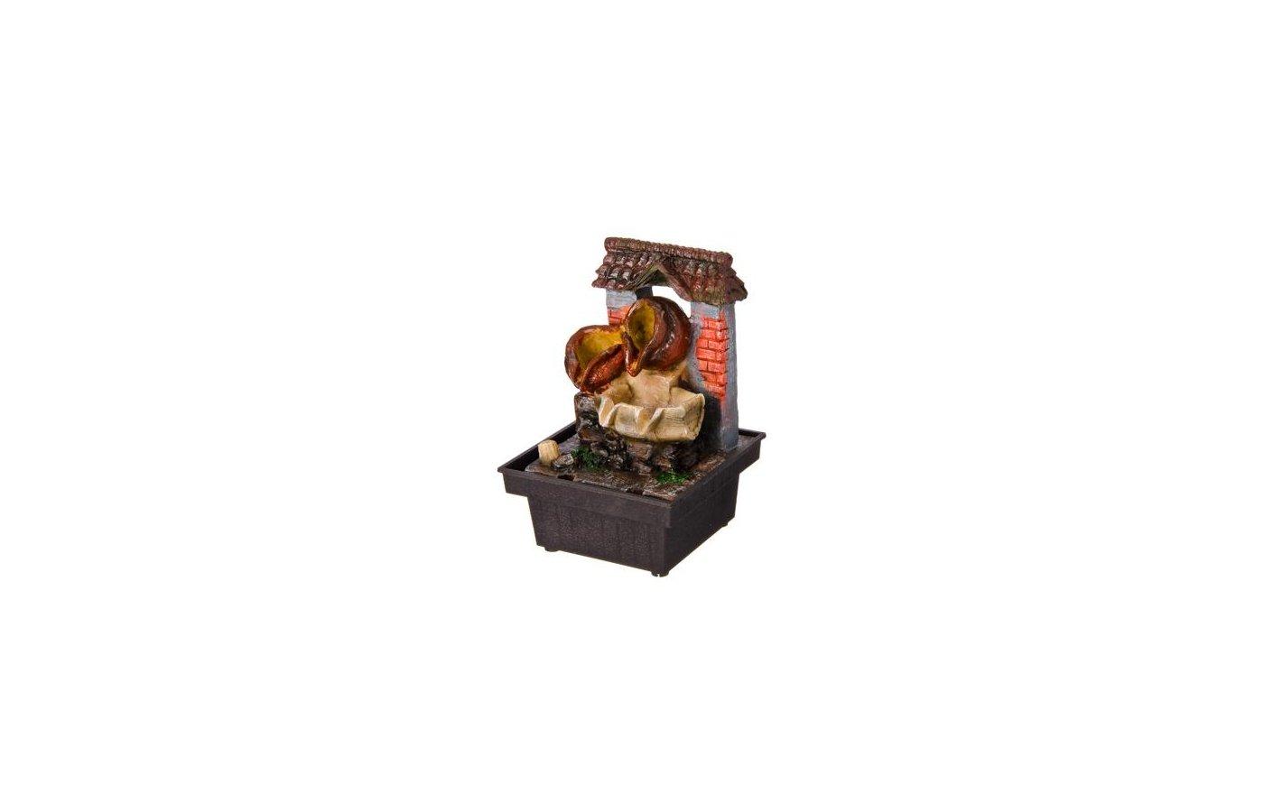 садовые товары Фонтан с двумя горшками 18х14х10.5см 515-007