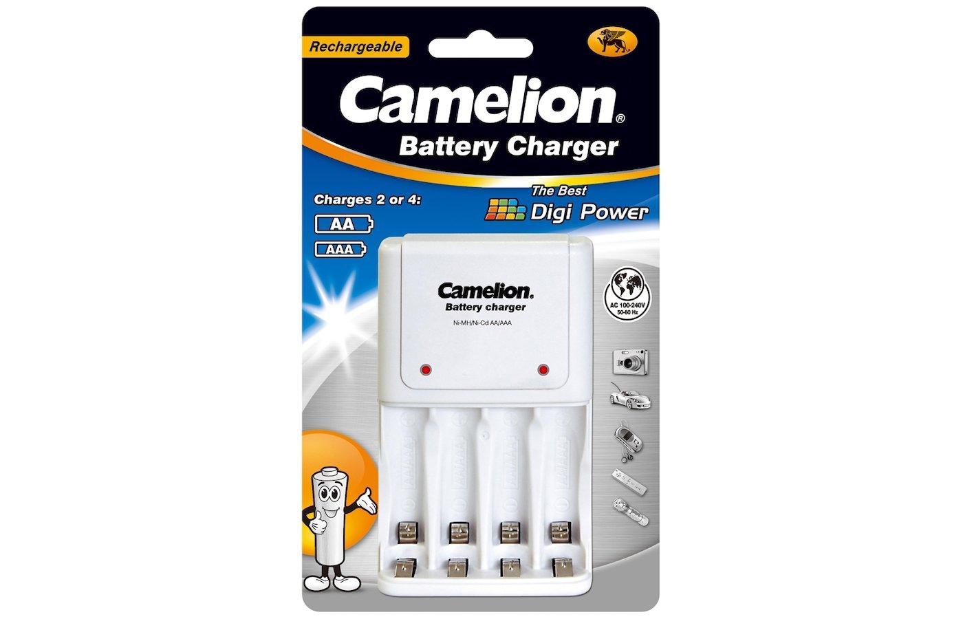 Camelion bc-1008 (зарядное устройство для 1-4aa/aaa / 200ма/защит