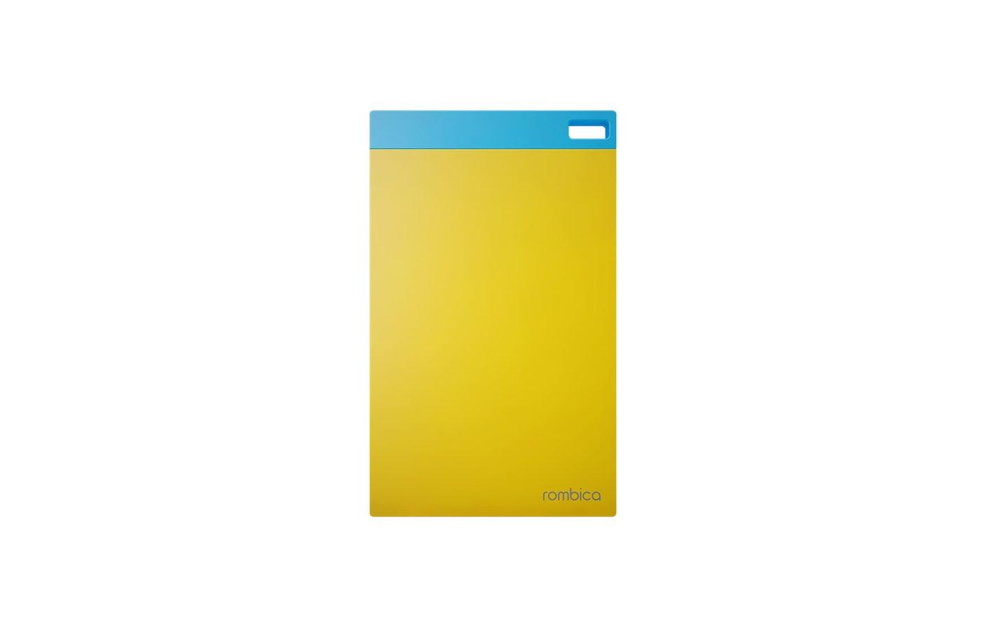 Портативный аккумулятор Rombica NEO NP60 6000мАч, USB 5В/2.1А, ультра тонкий и легкий, Li-polymer, желты