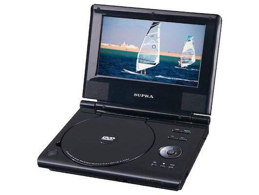 Портативный DVD SUPRA SDTV-715U black