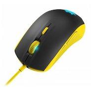 Мышь проводная Steelseries Rival 100 Proton желтый/черный оптическая (4000dpi) USB игровая (5but)