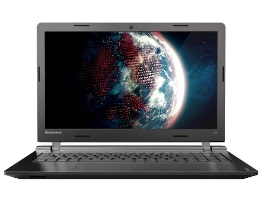 Ноутбук Lenovo IdeaPad 100-15 /80MJ0054RK/ intel N2840/4Gb/250Gb/GMA HD/DVDRW/15.6/WiFi/DOS