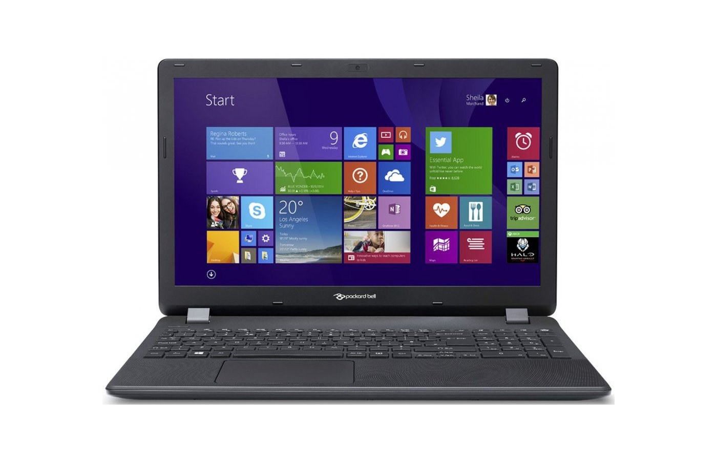 Ноутбук Packard Bell ENTG81BA-C7ND /NX.C3YER.007/ intel N3050/2Gb/500Gb/15.6/WiFi/Win8