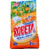 Фото Средства для стирки и от накипи ROBETA automat горный цветок унивевсальный стиральный порошок 3 кг