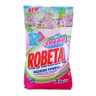 Средства для стирки и от накипи ROBETA COLOR горный цветок стиральный порошок 3 кг