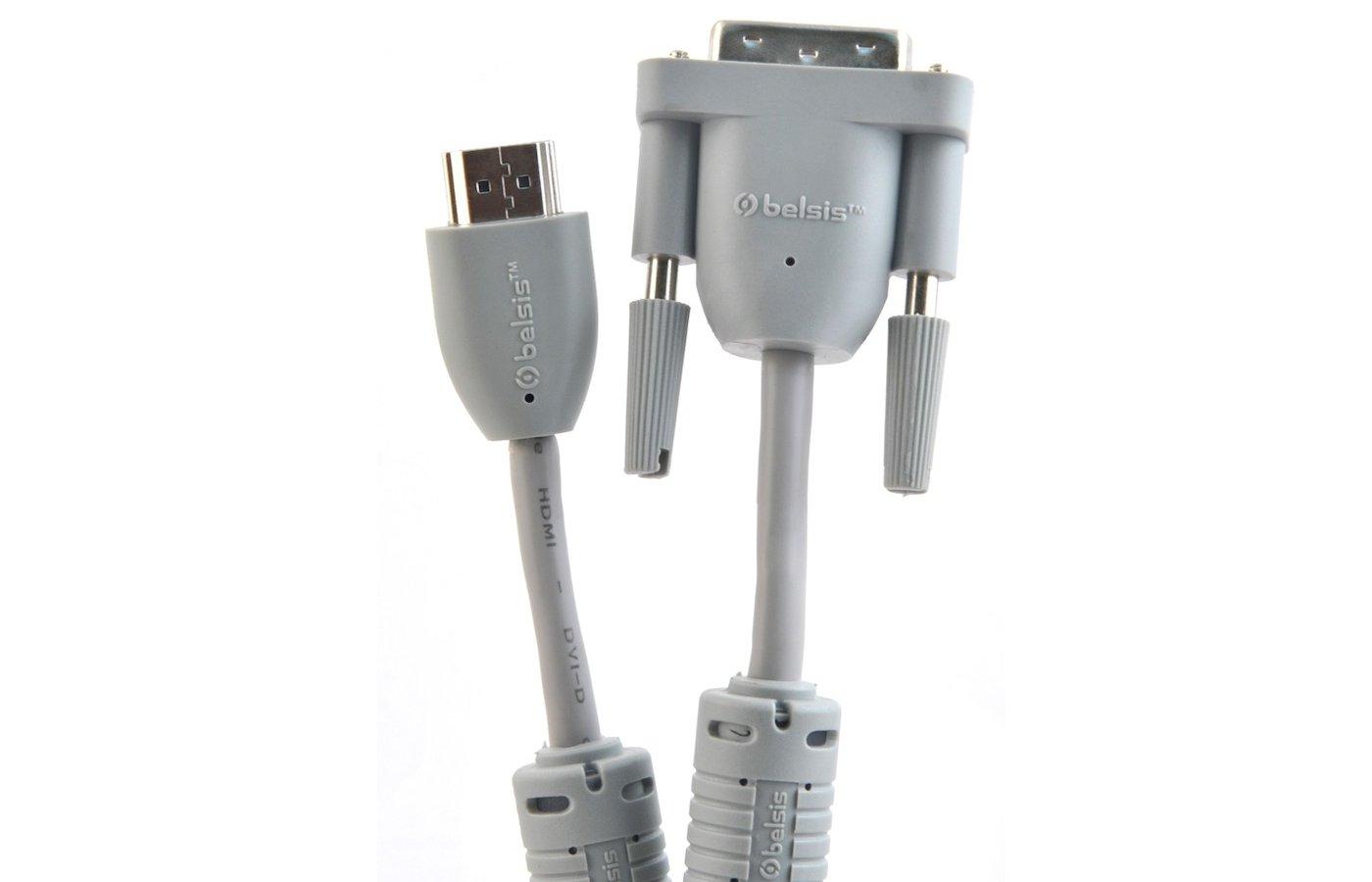 Кабель BELSIS BW 1460 HDMI(m) - DVI-D(m) 1.8м.
