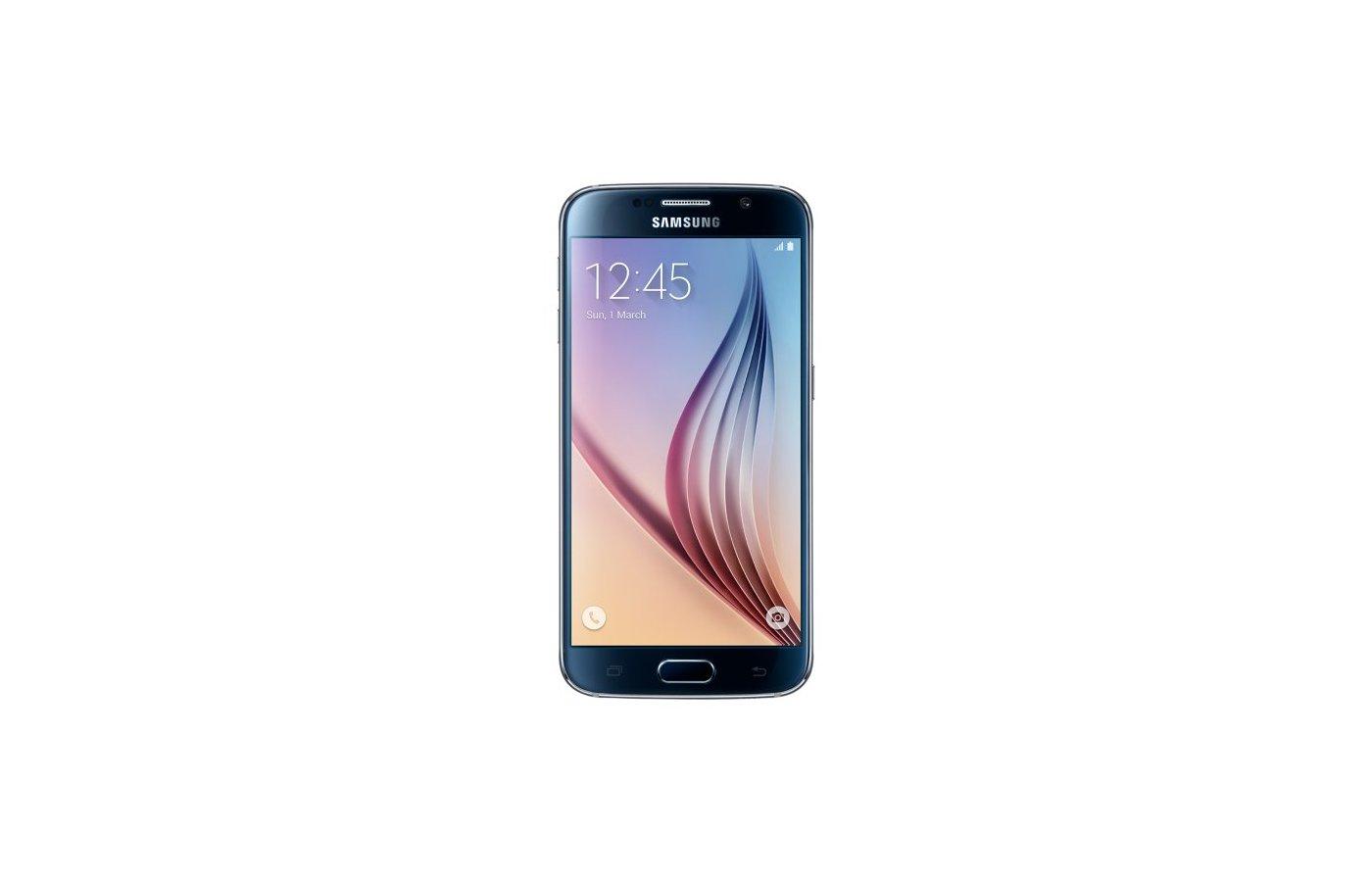 Смартфон Samsung SM-G920F Galaxy S6 DS 64GB black