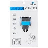 Фото Зарядное устройство Neoline Volter АЗУ 3xUSB D3