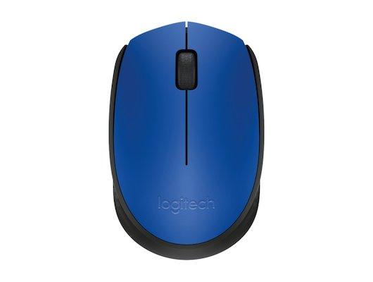 Мышь беспроводная Logitech M171 Blue (910-004640)