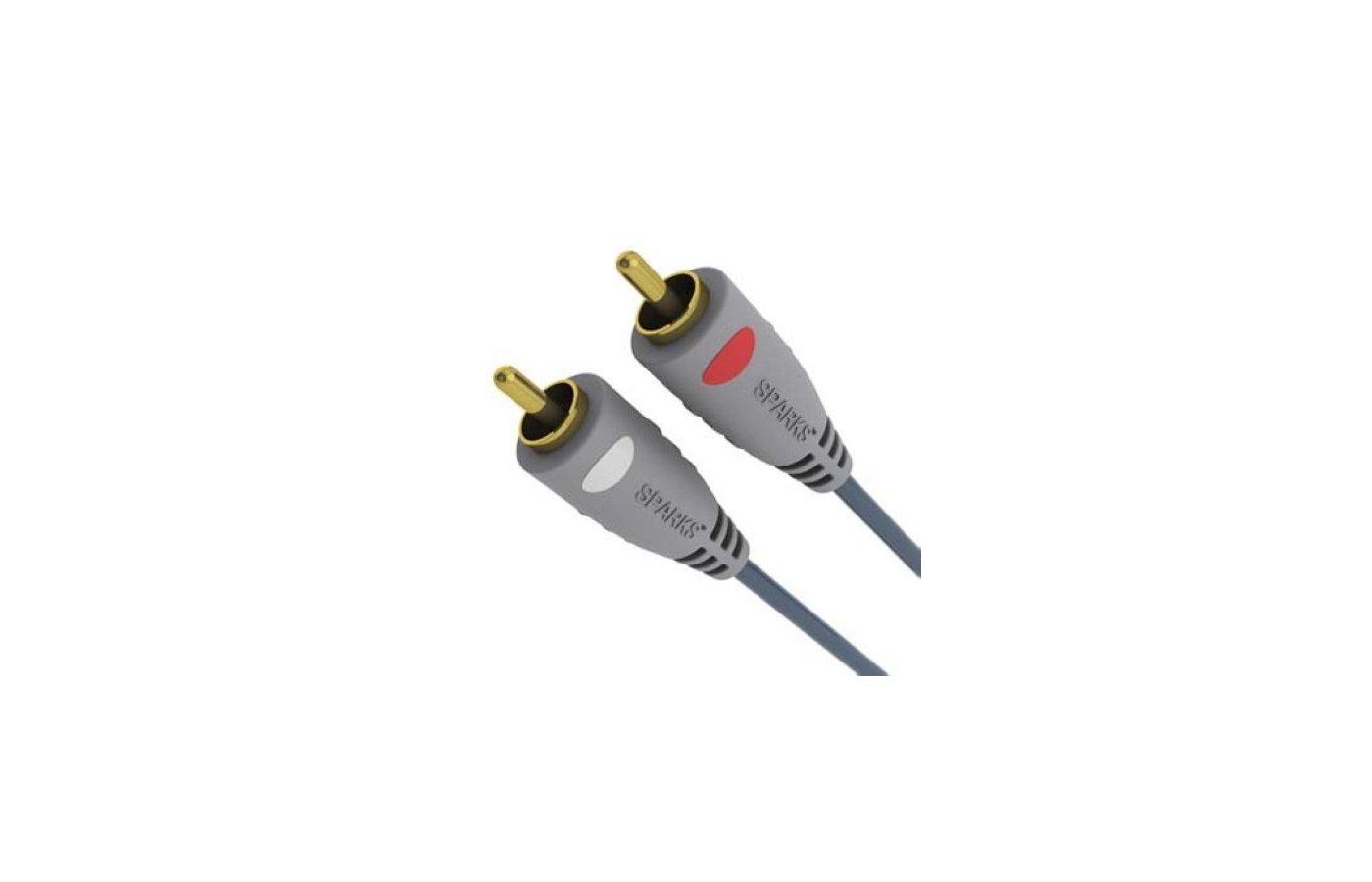 Кабель SPARKS SG 1110 2xRCA(m) - 2xRCA(m) 1.8м.