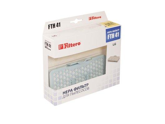 Фильтр для пылесоса FILTERO FTH 41 LGE HEPA фильтр для пылесосов LG