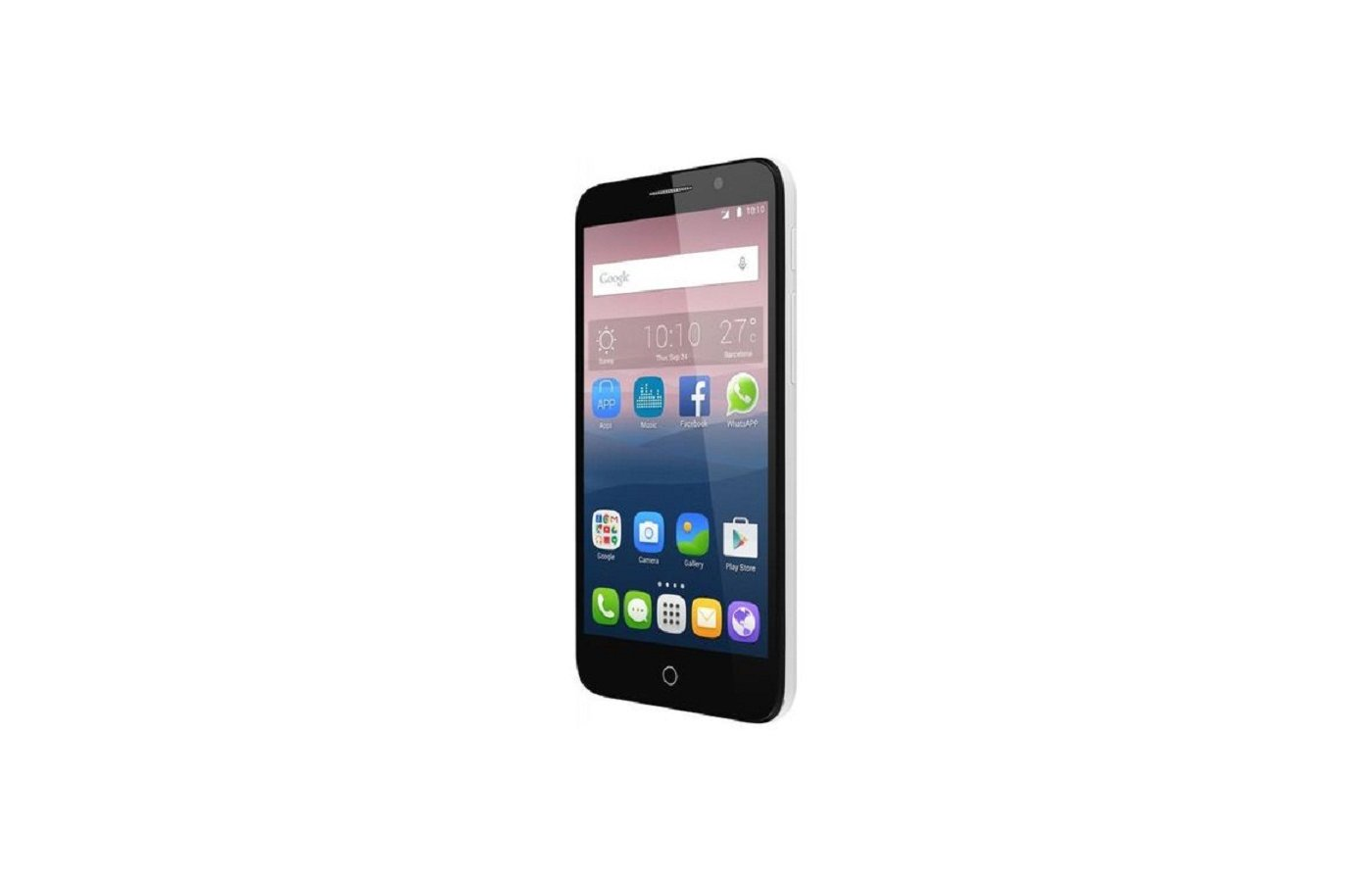 Смартфон Alcatel 5054D POP 3 (5.5) Black White