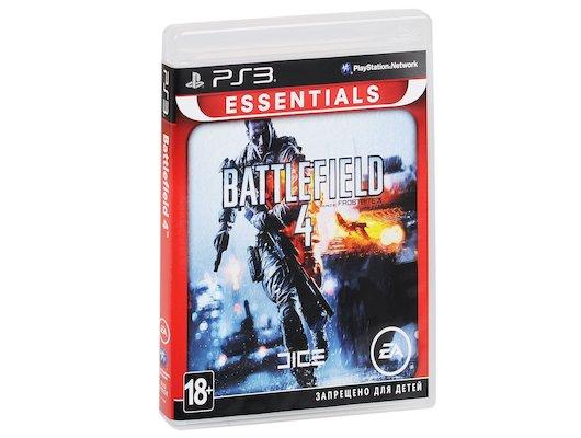 Battlefield 4 (Essentials) PS3 русская версия