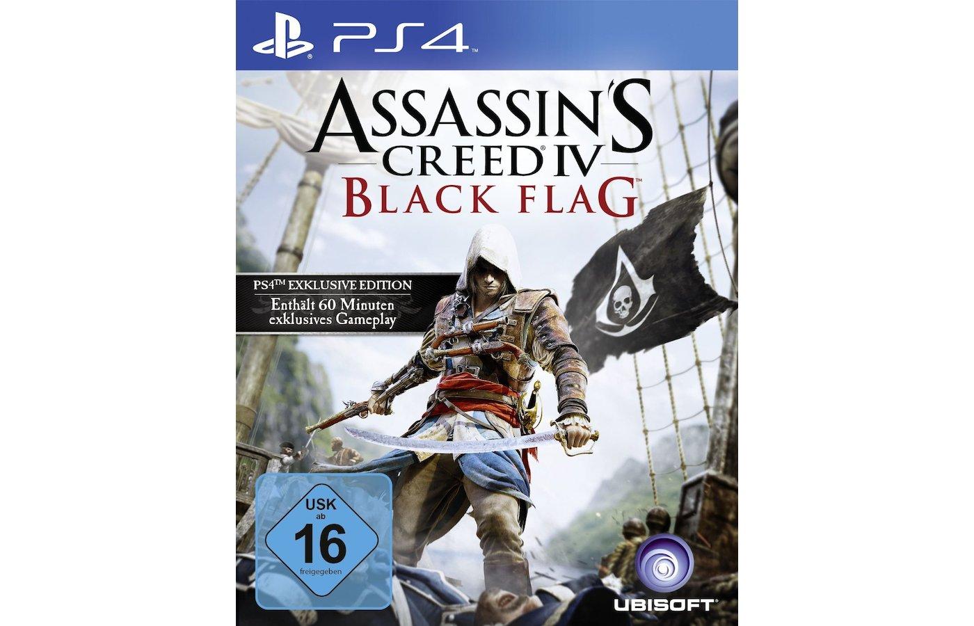 Assassins Creed IV. Черный флаг (PS4 русская версия)