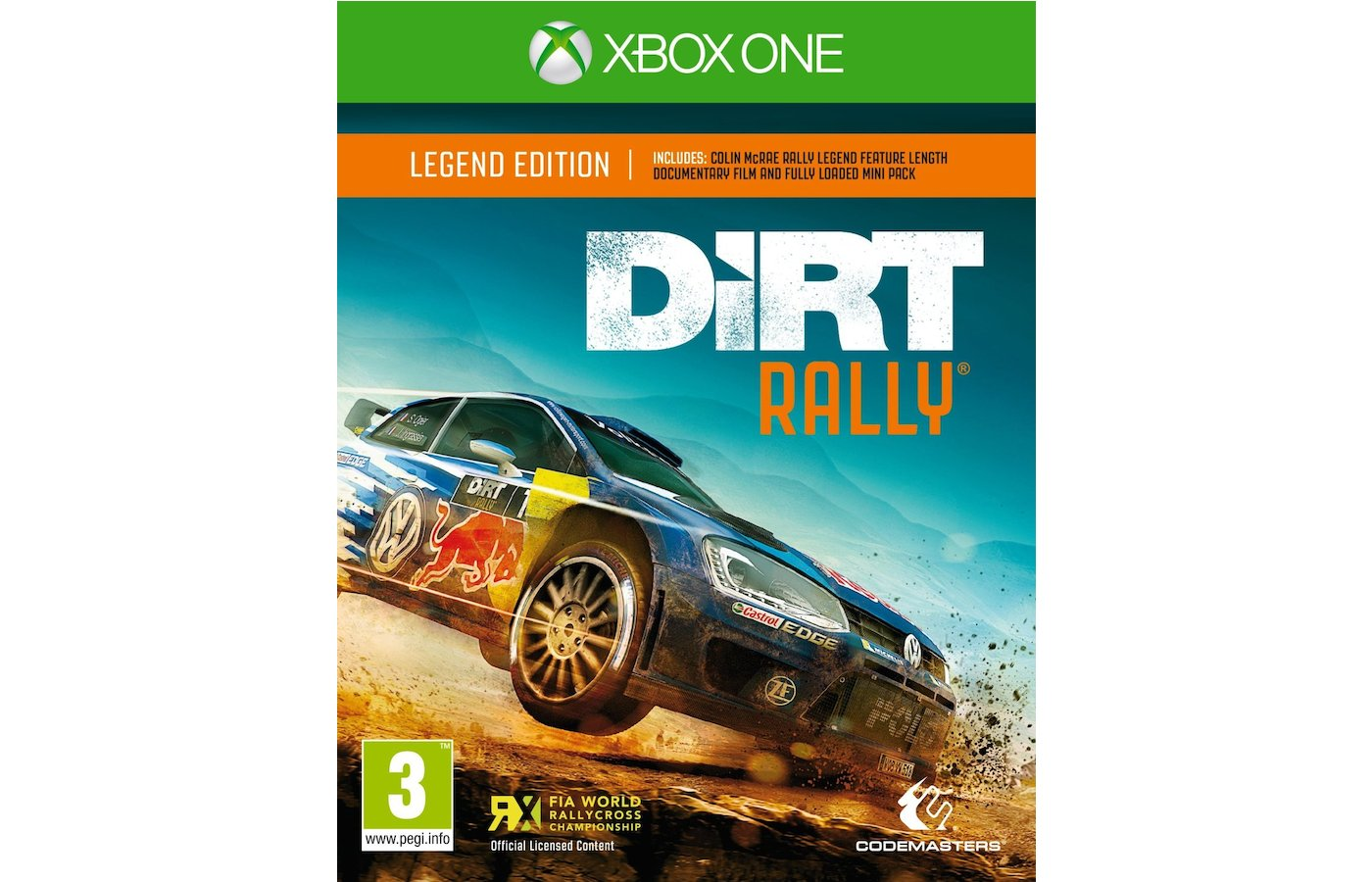 Xbox One: DIRT RALLY Legend Edition