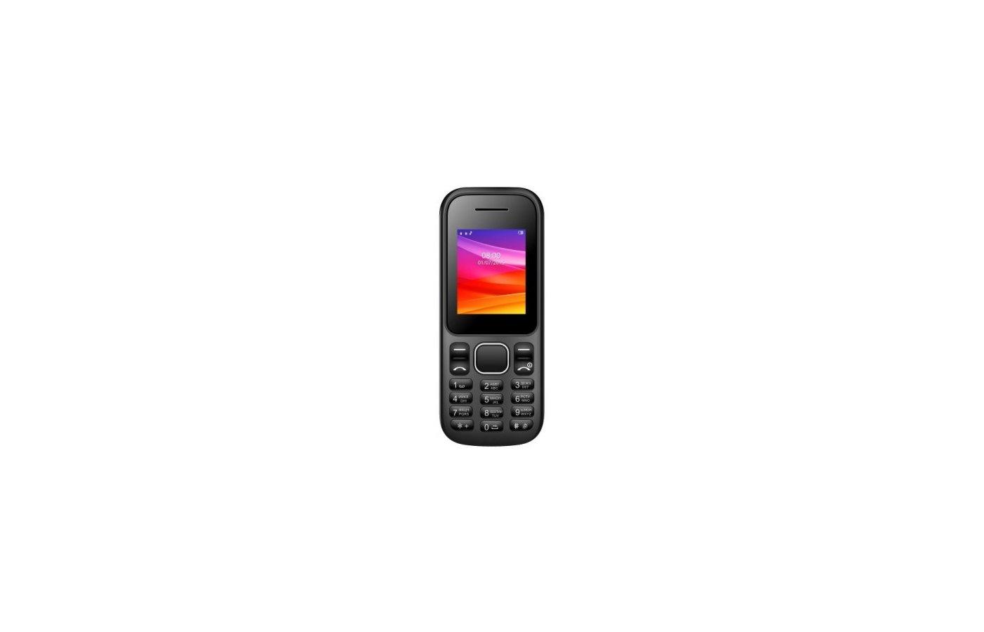 Мобильный телефон Vertex M105 черный