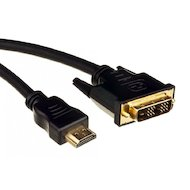 Кабель BURO HDMI(m) - DVI-D(m) 5м.