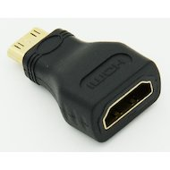 Переходник Video mini HDMI(m) - HDMI(f)