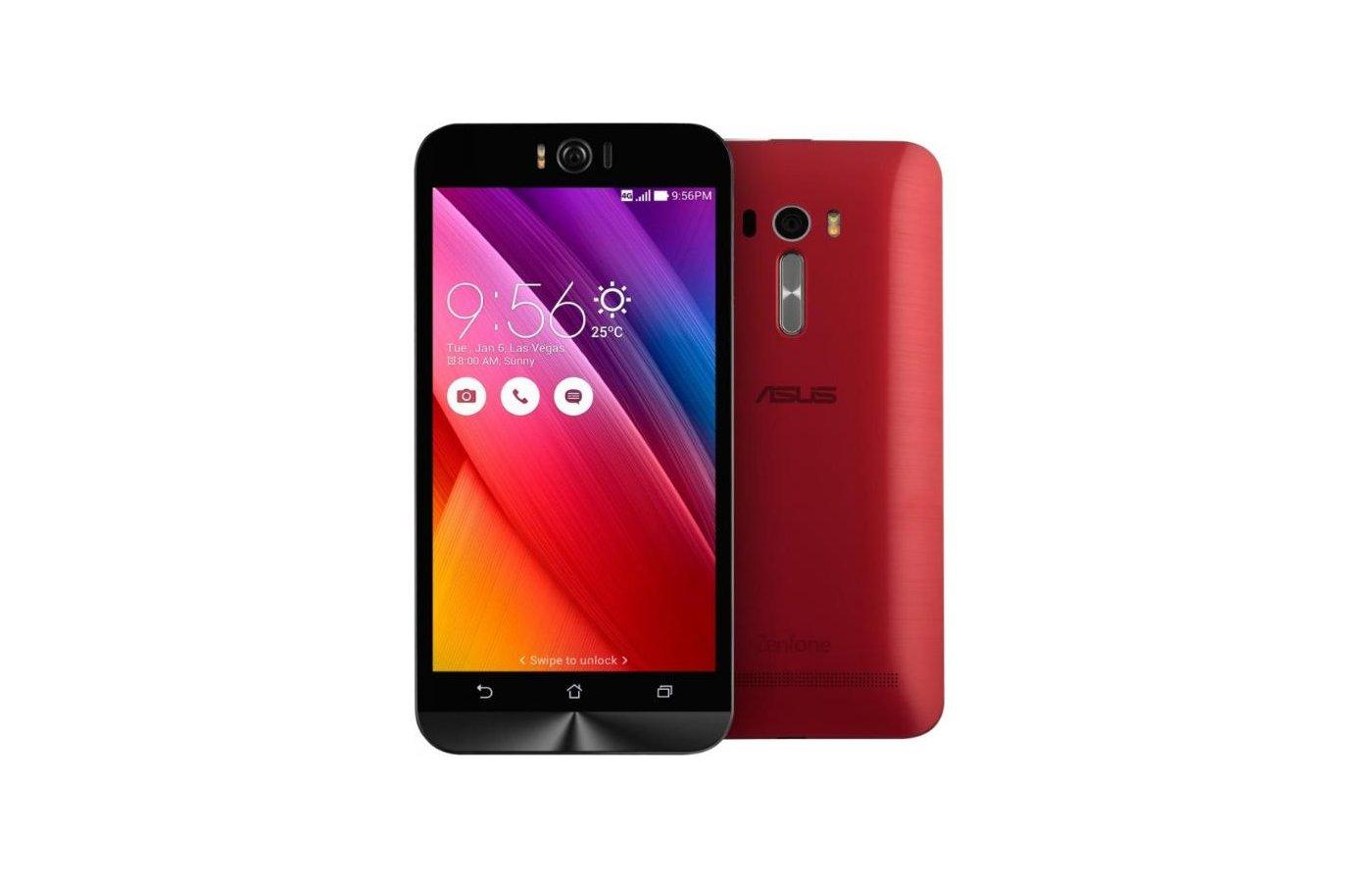 Смартфон ASUS ZD551KL ZenFone Selfie 16Gb red
