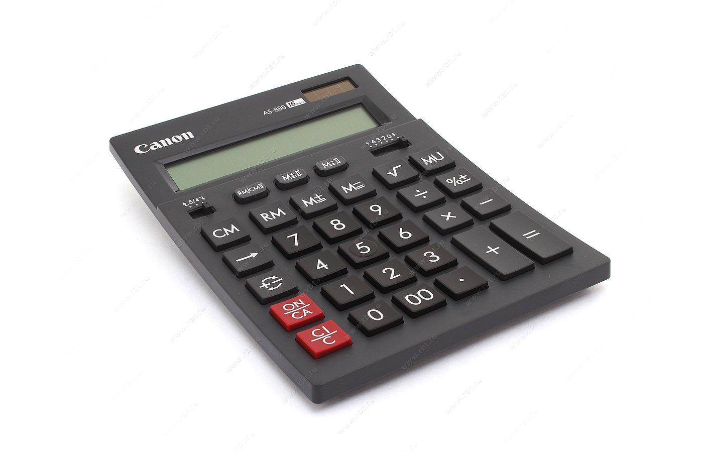 Калькулятор Canon AS-888 бухгалтерский черный 16-разр.