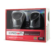 Фото Компьютерные колонки CROWN CMS-279 black/silver