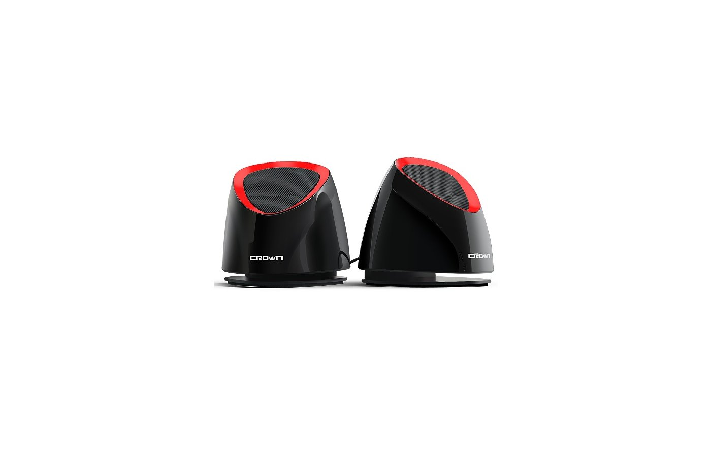 Компьютерные колонки CROWN CMS-279 black/red