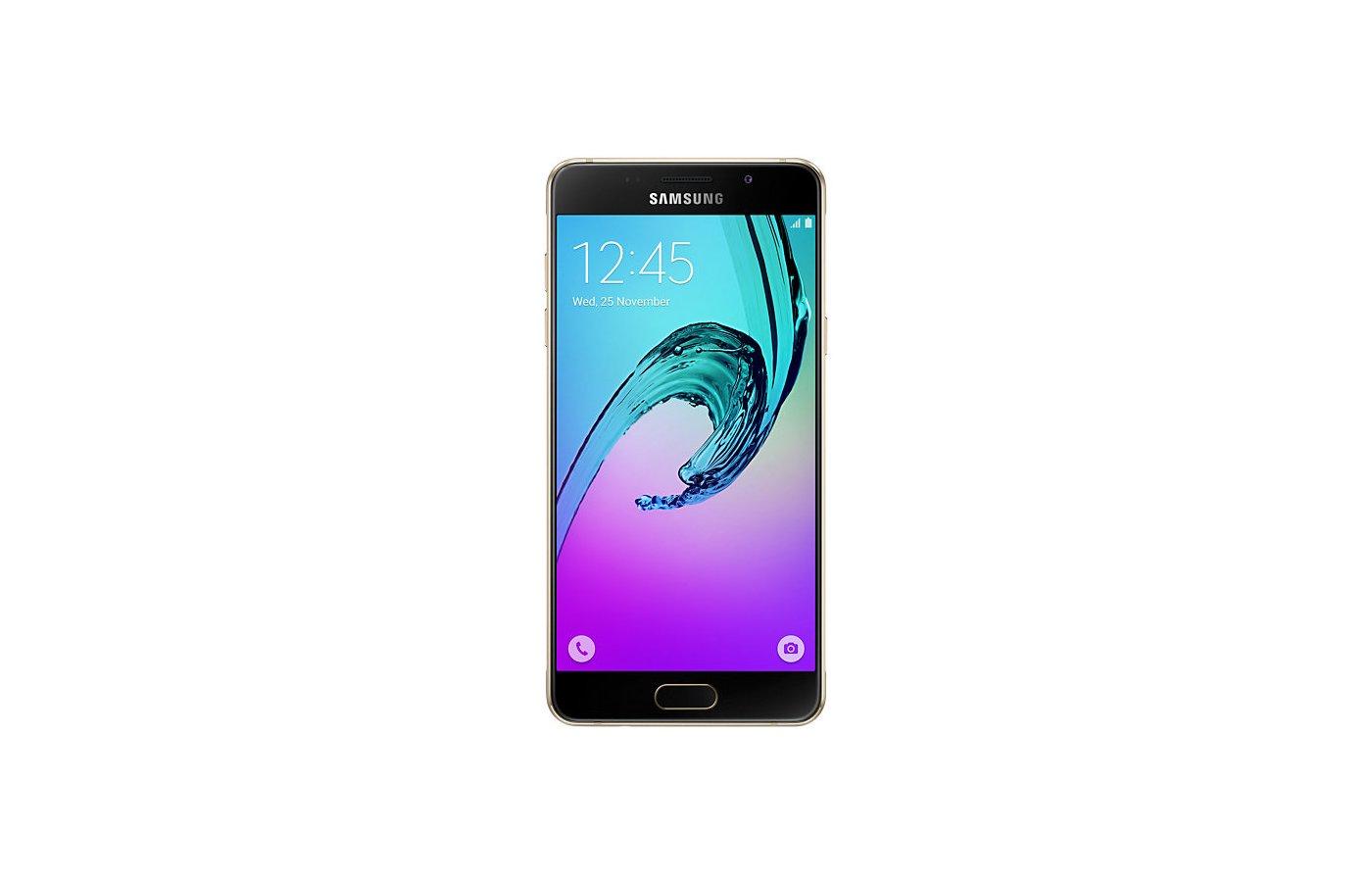 Смартфон Samsung Galaxy A5 (2016) SM-A510F золотой