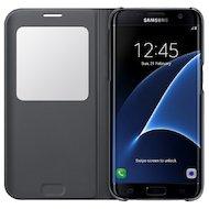 Фото Чехол Samsung S-View для Galaxy S7 Edge (SM-G935) (EF-CG935PBEGRU) черный