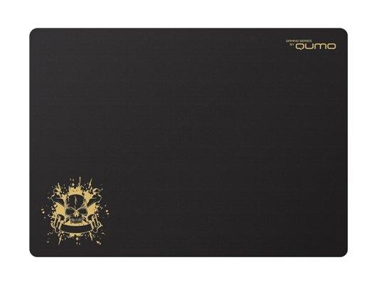 Коврик для мыши Qumo Dragon War Skull 320x230x1 черный