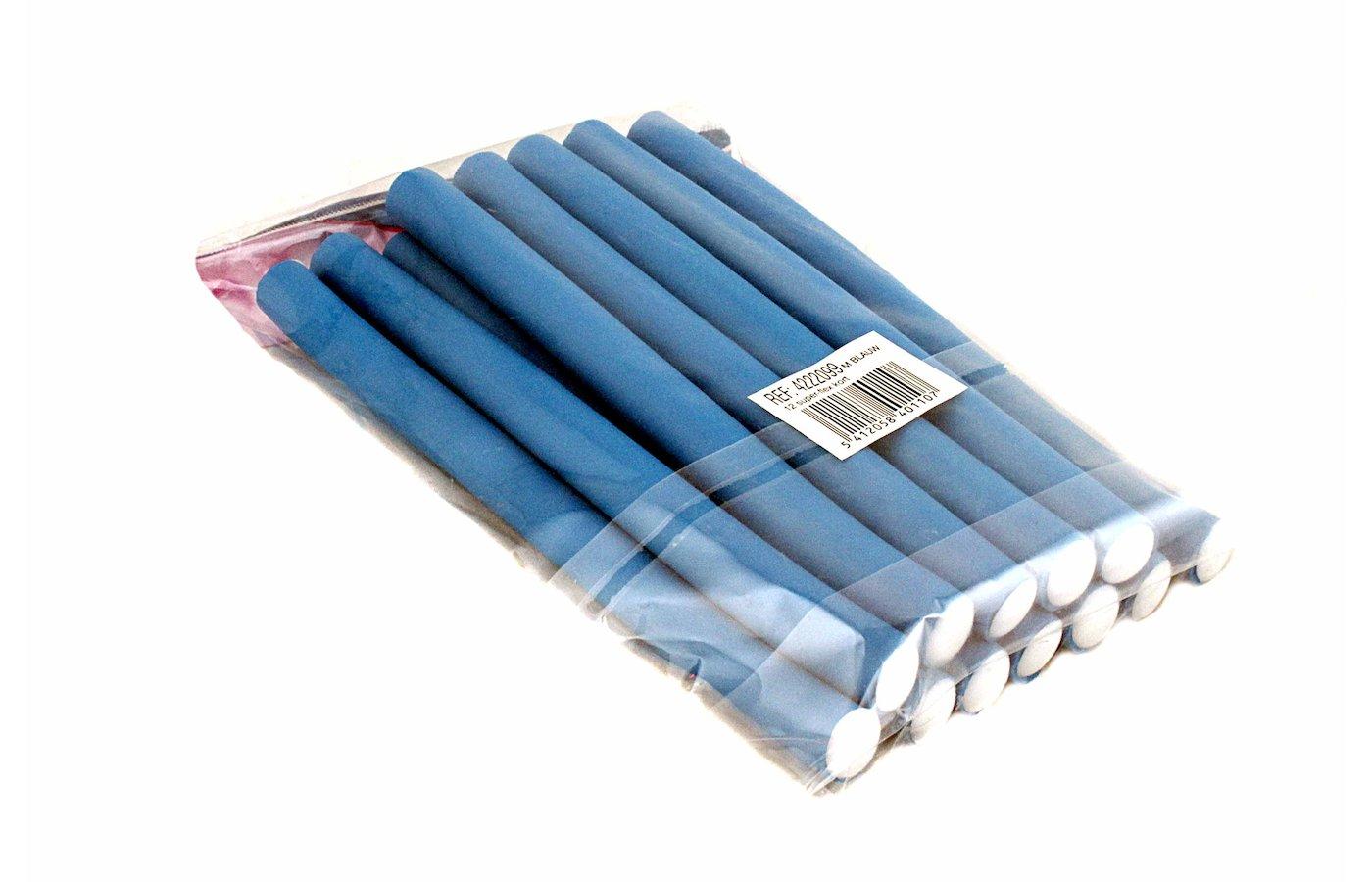 Бигуди Палочки д/волос кор синие 4222099