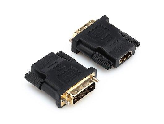 Переходник Rexant DVI-D(m) - HDMI(f) (17-6812)