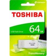 Фото Флеш-диск Toshiba 64Gb Hayabusa U202 THN-U202W0640E4 USB2.0 белый